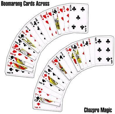 Boomerang Cards Across - magic