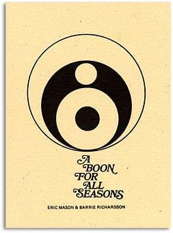 Boon For All Seasons book Barrie Richardson and Eric Mason - magic
