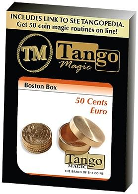 Boston Coin Box Brass - magic