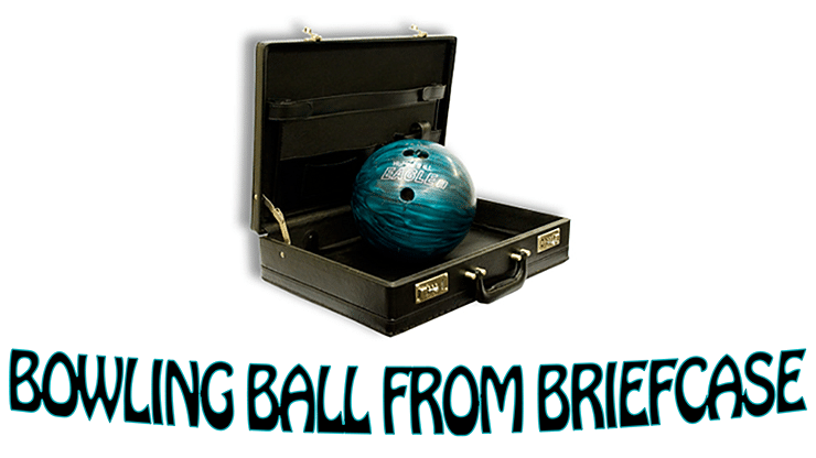 Bowling Ball from Briefcase - magic