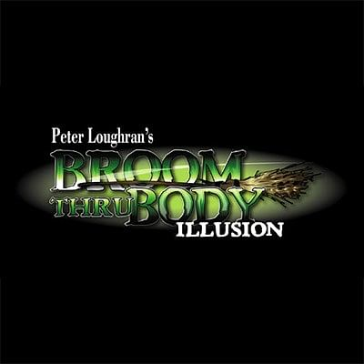 Broom Thru Body Illusion - magic