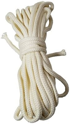 BTC Parlor Rope 50 ft. WHITE
