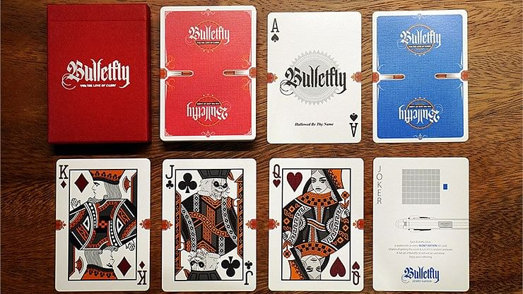 Bulletfly Playing Cards (Vino Edition) - magic