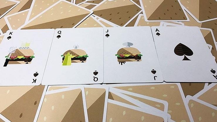 Burger Playing Cards