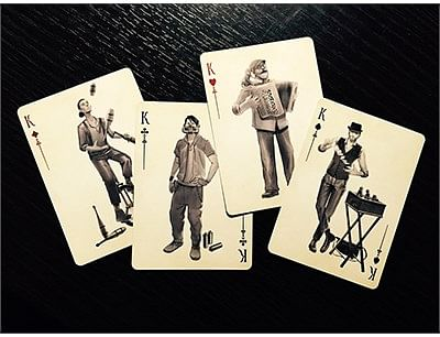 Busker Vintage Playing Cards
