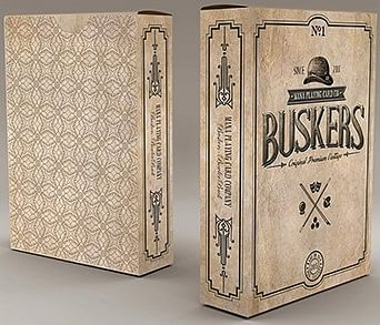 Busker Vintage Playing Cards - magic