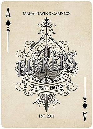 Buskers Playing Cards (Exclusive Edition)