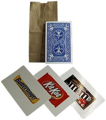 Butterfinger, Kit Kat & M & M's - magic