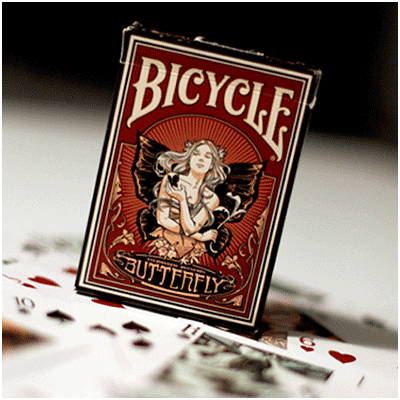 Butterfly Bicycle Deck - magic