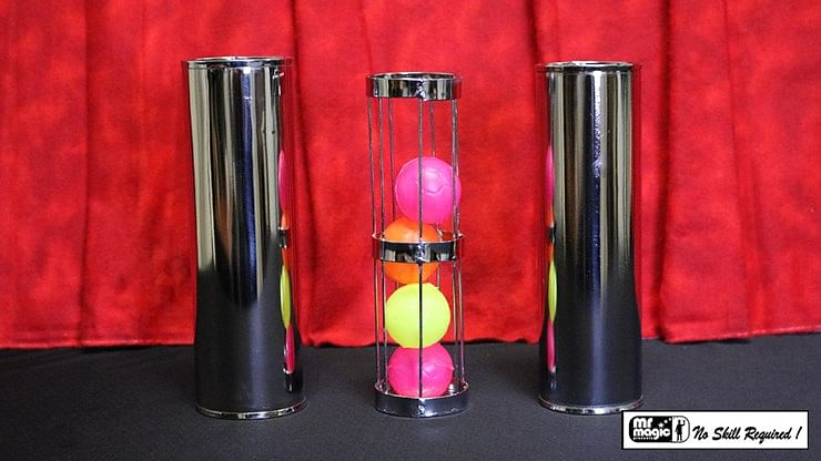 Cage and Cylinder Mystery - magic