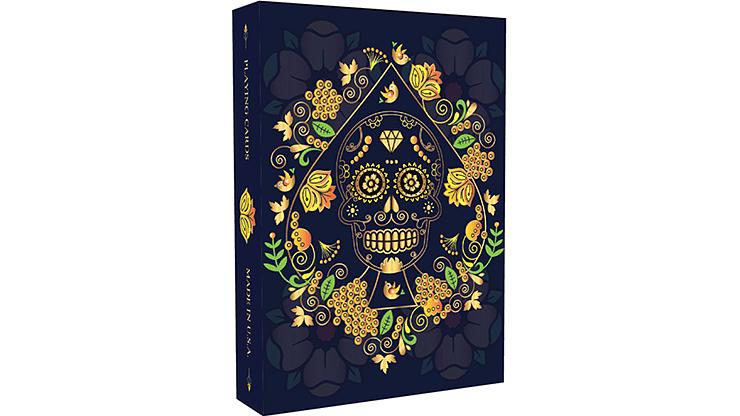 Calaveras de Azúcar Blue Edition Playing Cards Printed - magic
