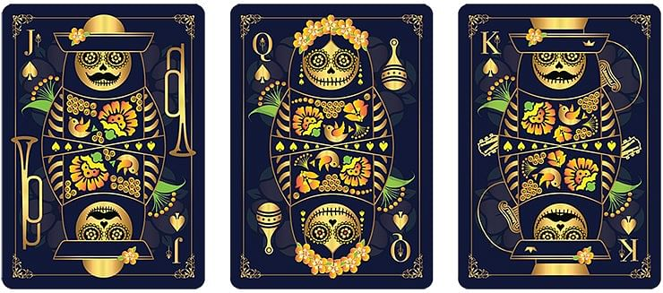 Calaveras de Azúcar Playing Cards