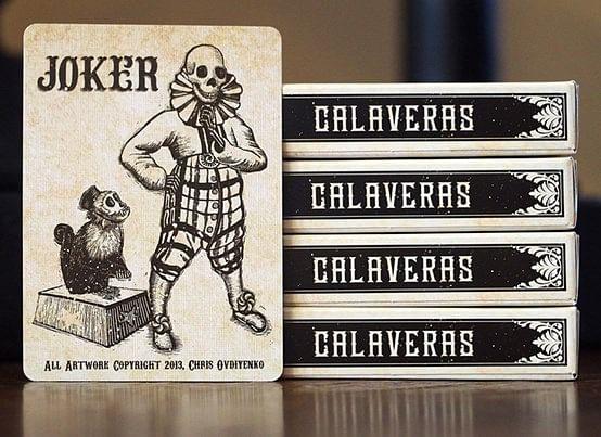 Calaveras Playing Cards