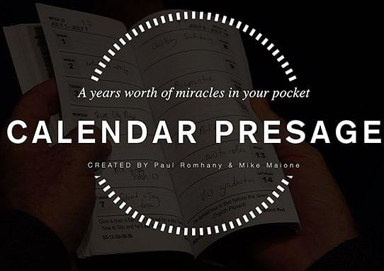 Calendar Presage - magic