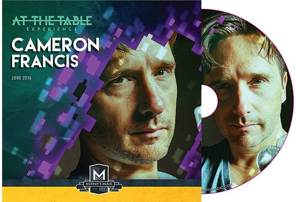 Cameron Francis Live Lecture DVD - magic