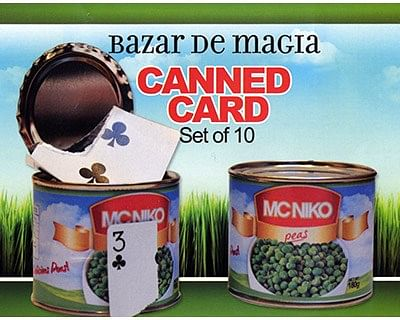 Canned Card - magic