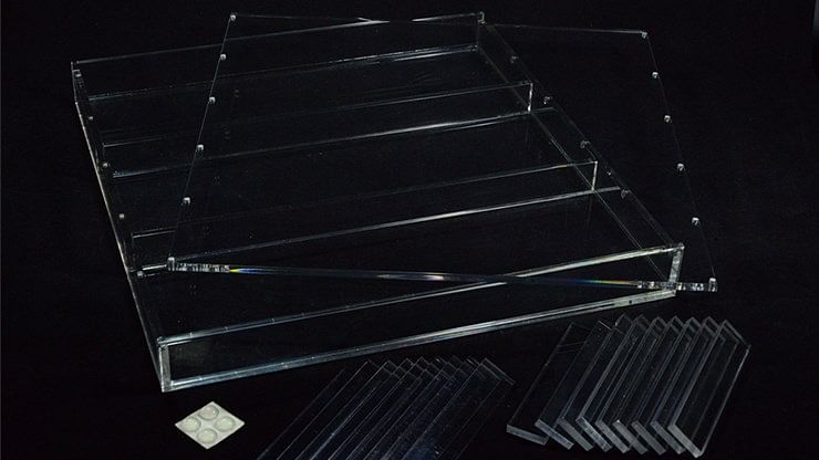 Carat X4X3 12-Deck Brick Display Case - magic