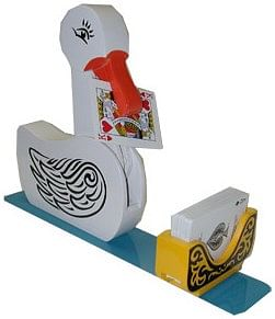 Card Duck trick Vincenzo di Fatta - magic