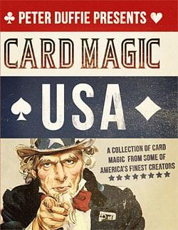 Card Magic USA Book - magic