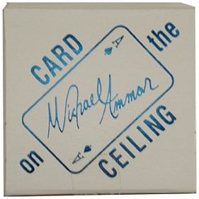 Card on Ceiling - magic