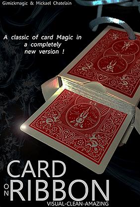 Card on Ribbon - magic