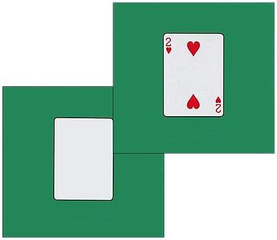 Card Silk Set 9 inch - magic
