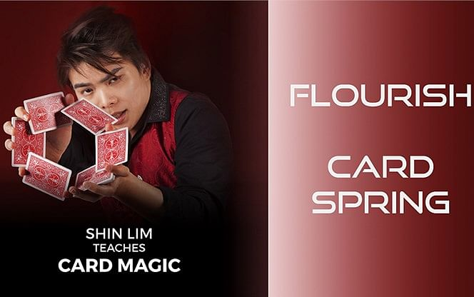 Card Spring Flourish - magic