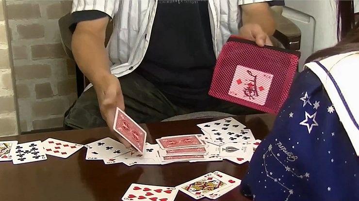 Card Through Mesh Bag