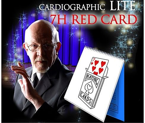 Cardiographic LITE RED CARD - magic