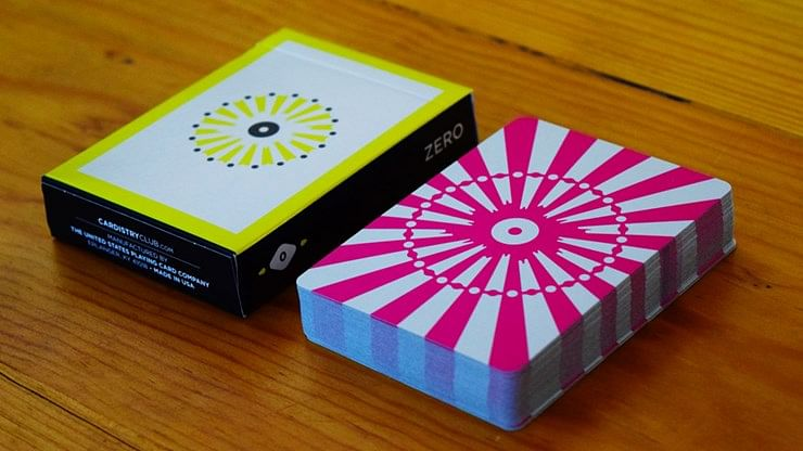 Cardistry Club Zero Playing Cards - magic