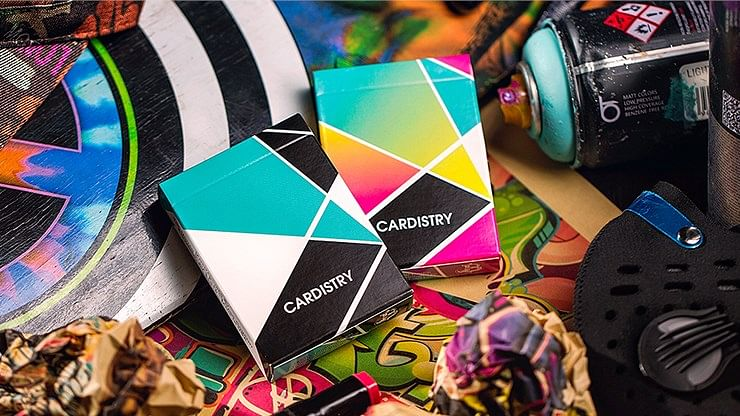 Cardistry Color Playing Cards - magic