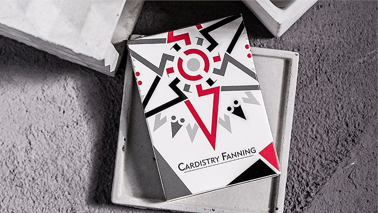 Cardistry Fanning Cards (White Edition) - magic