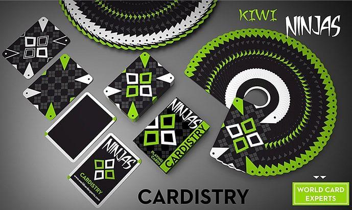 Cardistry Kiwi Ninjas  Playing Cards