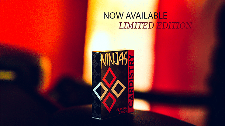 Cardistry Ninja Playing Cards - magic