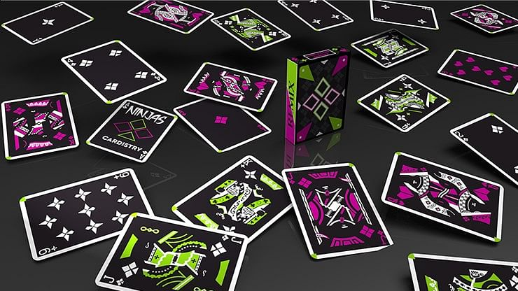 Limited Edition Cardistry Ninjas Remix Playing Cards