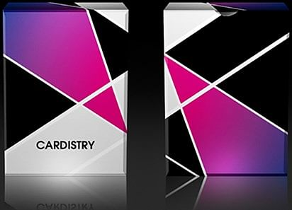 Cardistry Purple  Playing Cards - magic
