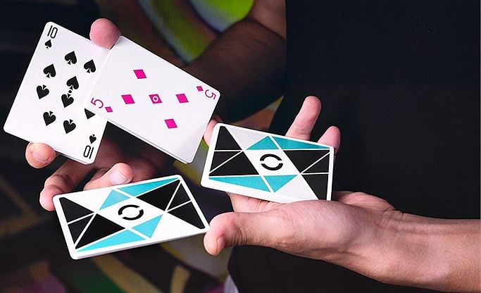 Cardistry Turquoise Playing Cards