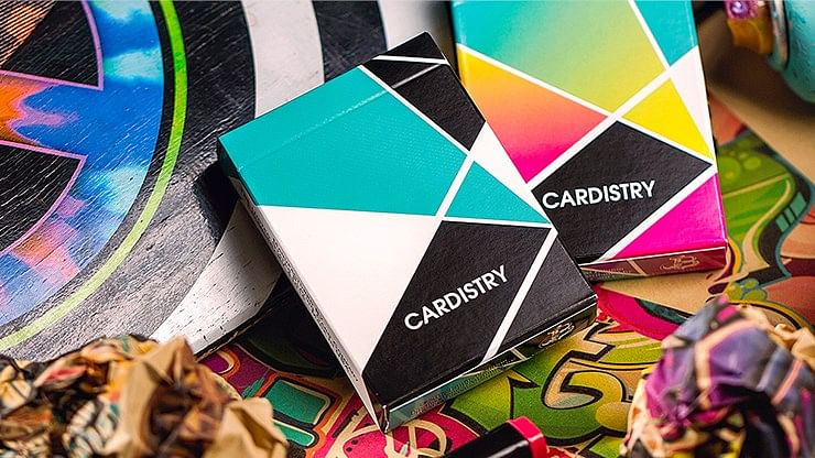 Cardistry Turquoise Playing Cards - magic