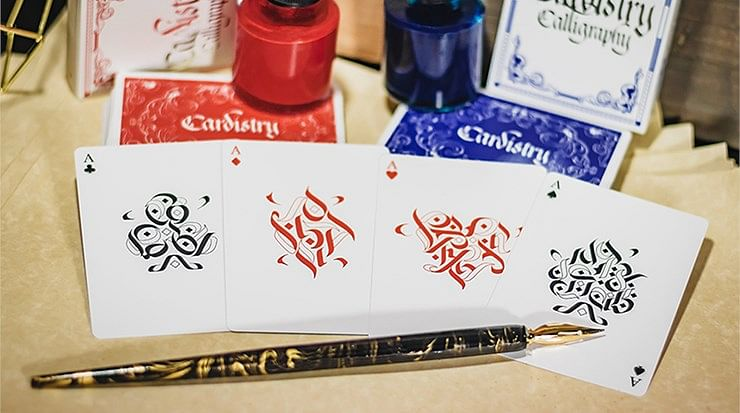 Cardistry x Calligraphy Golden Foil Limited Edition Playing Cards