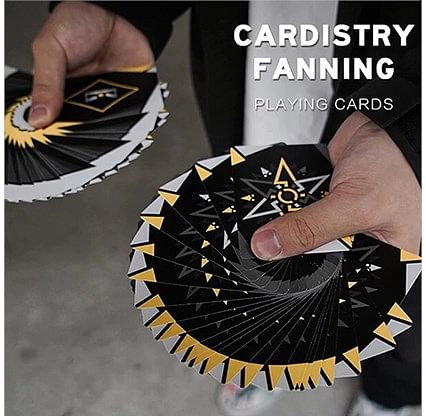 Cardistry Fanning Cards (Yellow Edition)