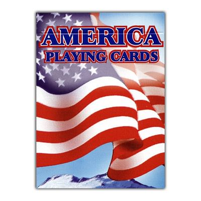 Cards American Flag - 12 PACK - magic