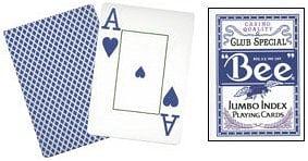 Bee Jumbo Index Playing Cards - magic