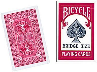 Bicycle Bridge Size Playing Cards - magic