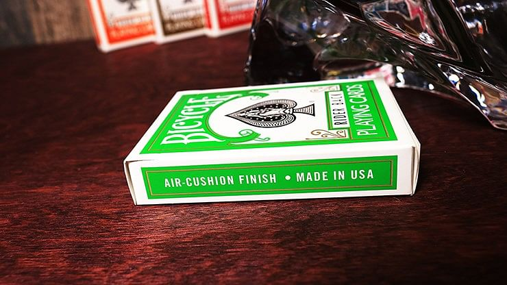 Bicycle Green Playing Cards