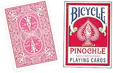 Bicycle Pinochle Playing Cards - magic