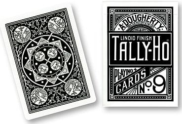 Tally Ho Fan Back (Black) - magic