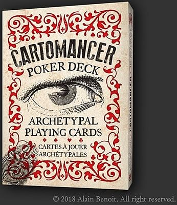 Cartomancer Poker Deck - Archetypal Playing Cards - magic