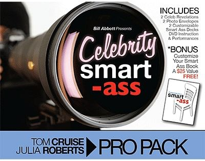 Celebrity Smart Ass Bundle - magic