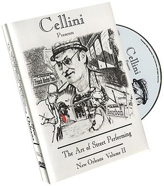 Cellini Art Of Street Performing Volume 2 - magic
