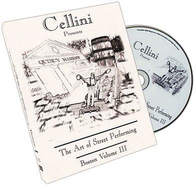 Cellini Art Of Street Performing Volume 3 - magic
